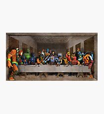 He-Man Villains Epic Last Supper Photographic Print