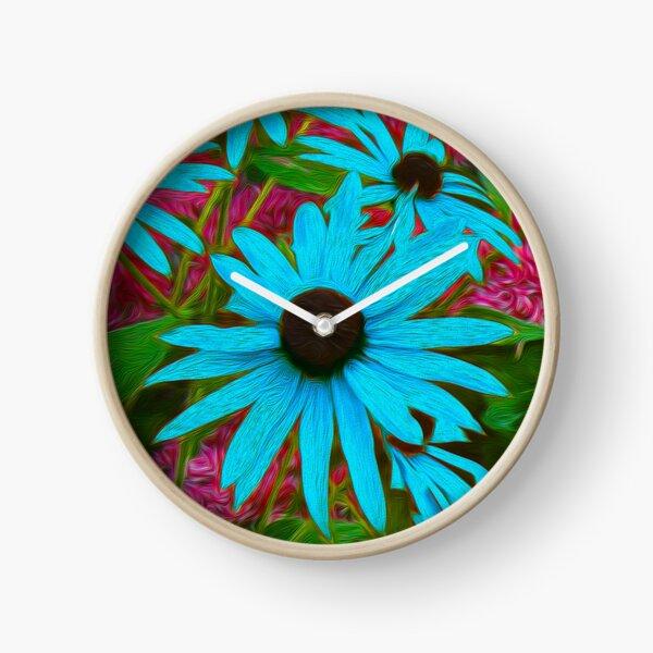 Wildflower Beauty Clock