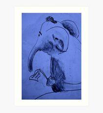 Elephant World  Art Print
