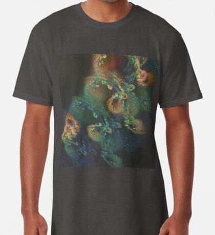 Underwater fractals Long T-Shirt
