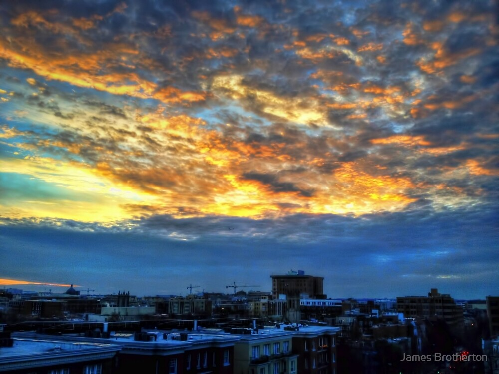 DC Sunset by James Brotherton