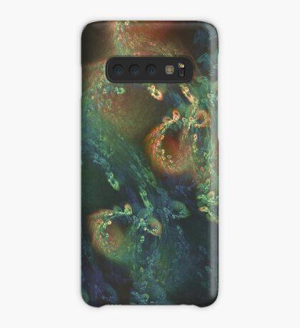 Underwater fractals Case/Skin for Samsung Galaxy