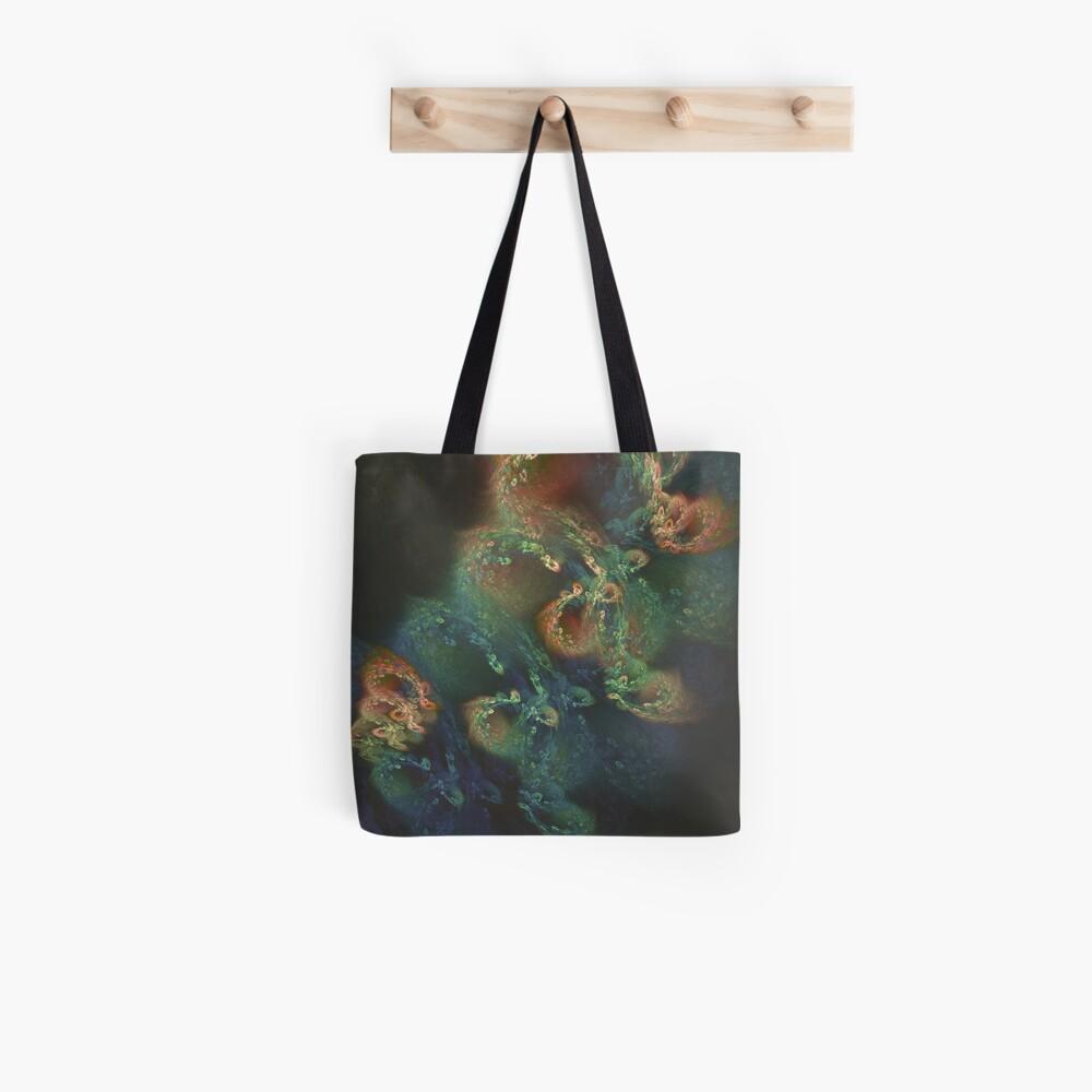 Underwater fractals Tote Bag