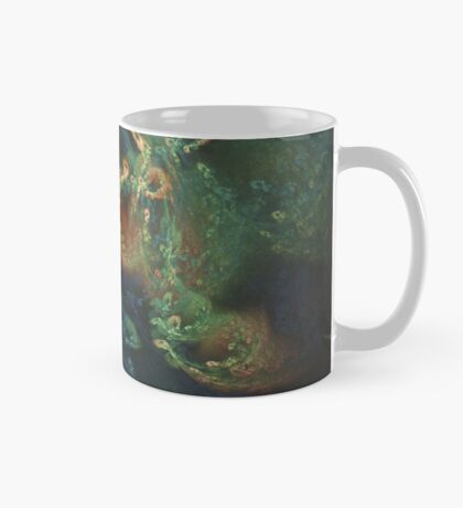 Underwater fractals Mug
