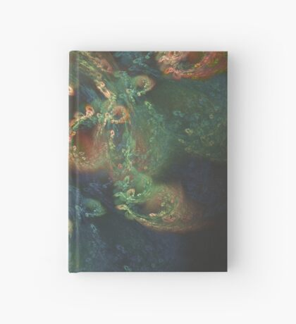 Underwater fractals Hardcover Journal