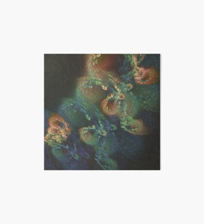 Underwater fractals Art Board Print