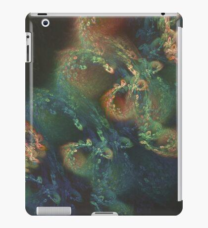 Underwater fractals iPad Case/Skin