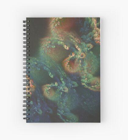 Underwater fractals Spiral Notebook