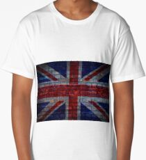 UK Flag vintage Long T-Shirt