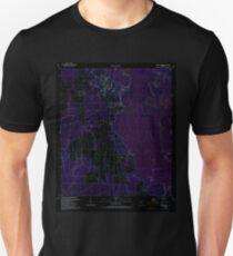 USGS TOPO Map Florida FL Wewahitchka 349088 1990 24000 Inverted Unisex T-Shirt