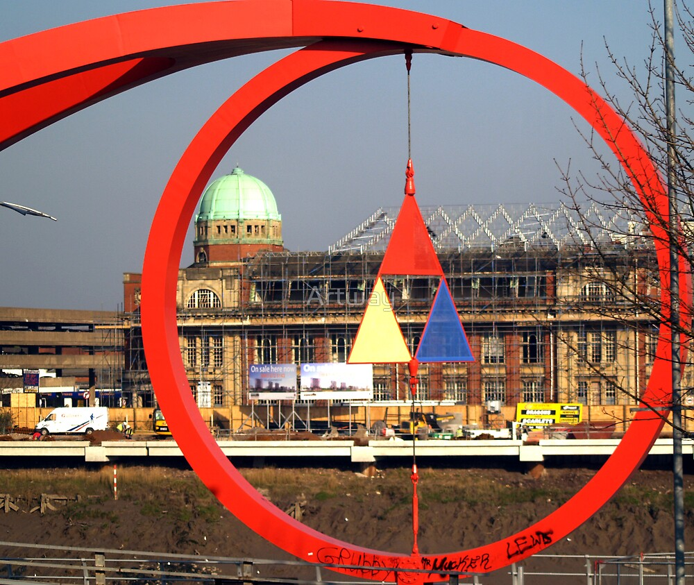 The Circle of Newport by Artway