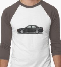 Diamond Black Bavarian E34 M Five Fuenfer T-Shirt