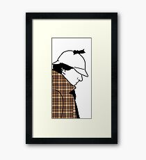 Shirley and his coat Framed Print
