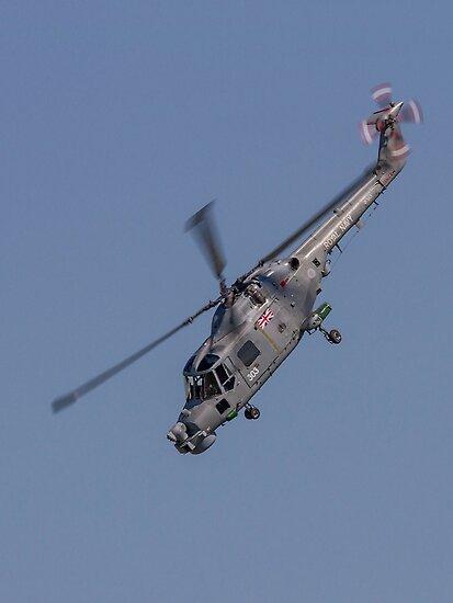 Westland Lynx HMA.8SRU ZF563/303 by Colin Smedley