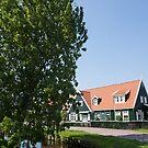 The Idyllic Dutch Village Marken, Near Amsterdam, Holland  by Georgia Mizuleva