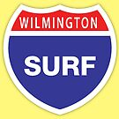 Wilmington Surf by Rich Anderson