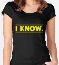 Camiseta entallada de cuello redondo Guerra de las Galaxias