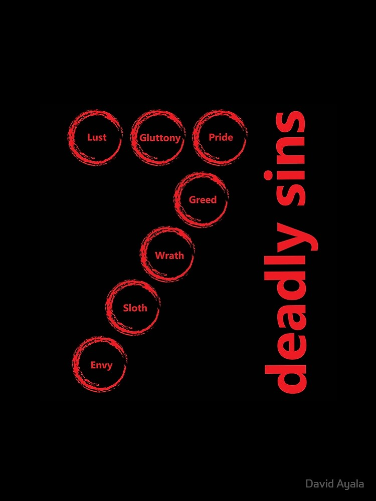 7 Deadly Sins by davayala93