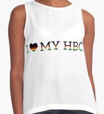 I Love My HBCU  Contrast Tank