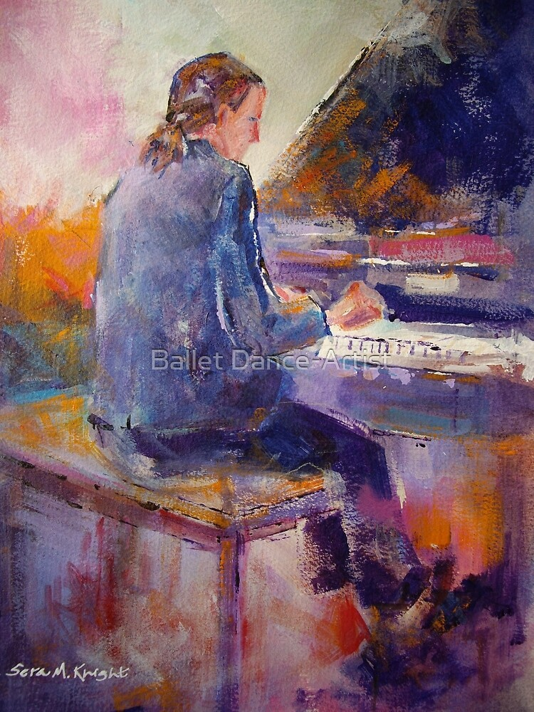 Playing The Piano - Music Art Gallery 9 by Ballet Dance-Artist
