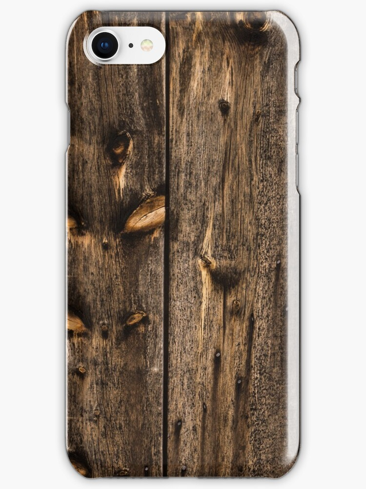 Weathered Wooden Abstracts One by Georgia Mizuleva