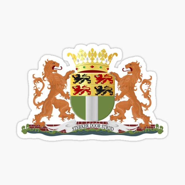 Coat of Arms of Rotterdam, Netherlands Sticker