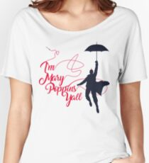Poppins Yall Women's Relaxed Fit T-Shirt