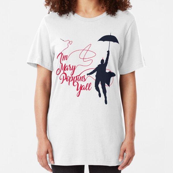 Poppins Yall Slim Fit T-Shirt