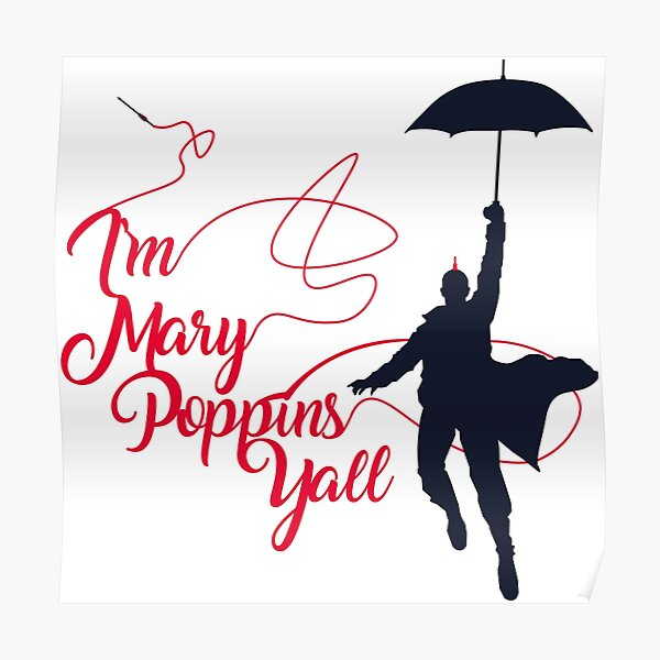 Poppins Yall Poster