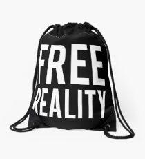 Free Reality Drawstring Bag