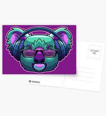 Postales Bass Drop Koala Bear