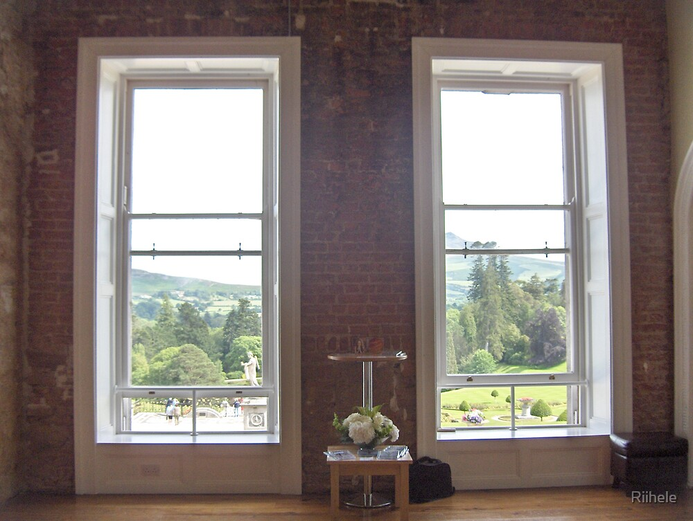 Room with a view - Powerscourt by Riihele