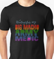 #BMAM Big Macho Army Medic-Pride Month 2017 T-Shirt
