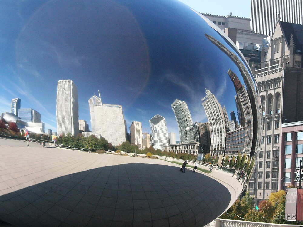 Chicago Reflection by caryj58