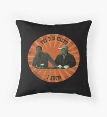 The D is silent! Throw Pillow