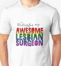 #Awesomelesbiansurgeon- Pride Month 2017 Unisex T-Shirt