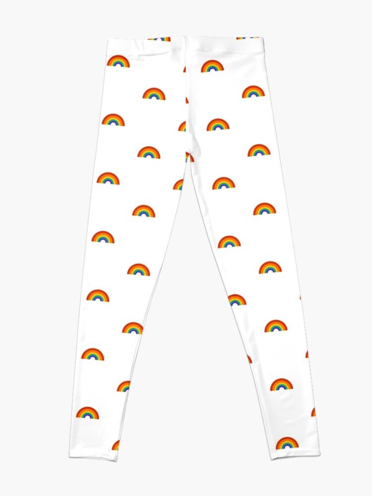 Alternate view of rainbow pride Leggings