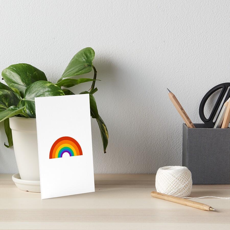 rainbow pride Art Board Print