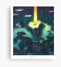 Onett Hill - EarthBound Canvas Print