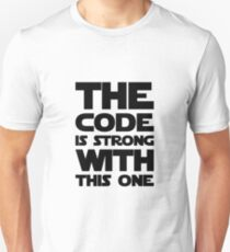 Code Is Strong With This One Unisex T-Shirt