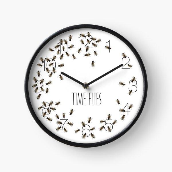 Bug Off Fly and the Time Flies Clock - Joke Prank Clock