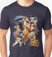 Street Pixelated Attacks T-Shirt