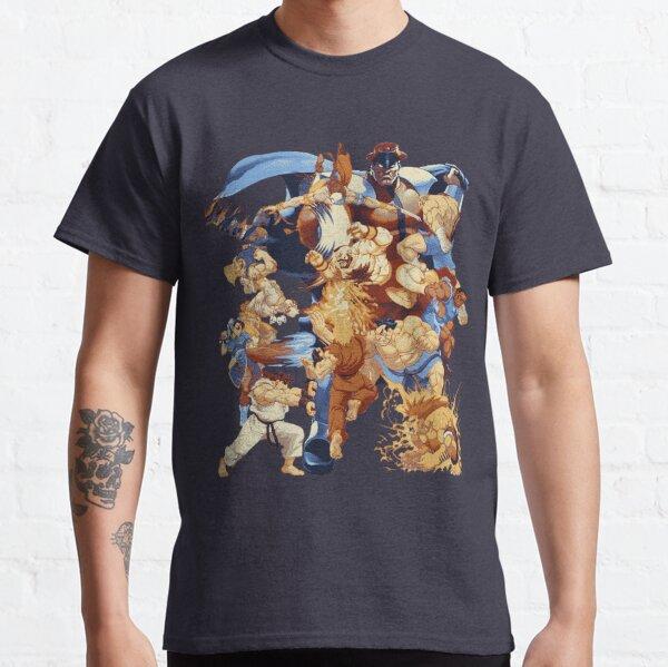 Attaques pixélisées par la rue T-shirt classique
