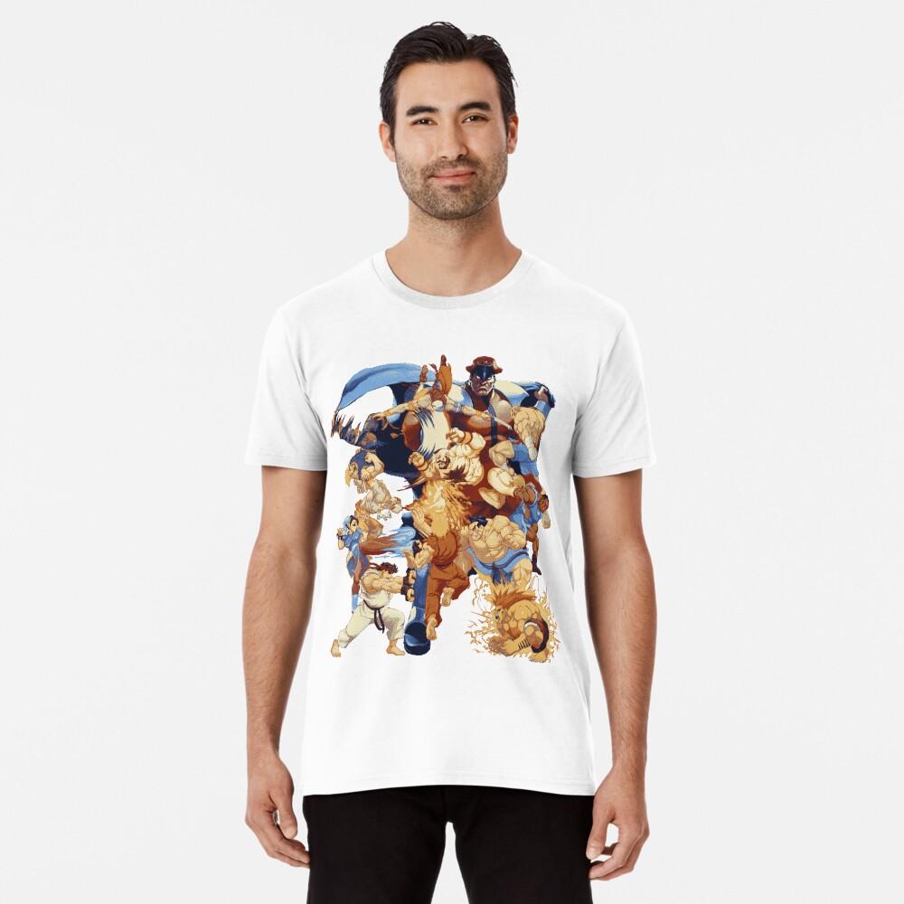 Street Pixelated Attacks Camiseta premium