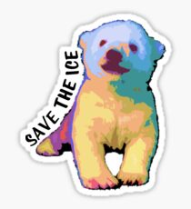 Save The Ice Sticker