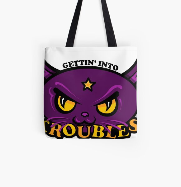 Star Belle - Gettin' Into TROUBLES All Over Print Tote Bag