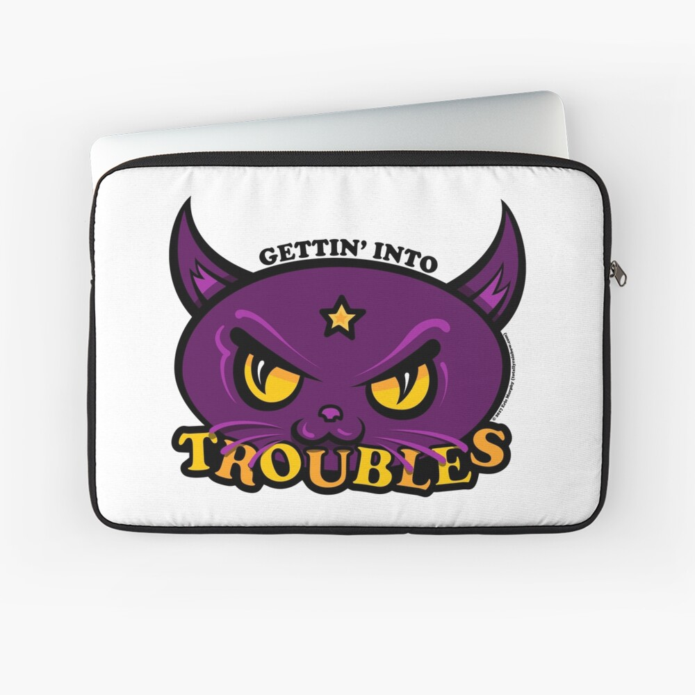 Star Belle - Gettin' Into TROUBLES Laptop Sleeve
