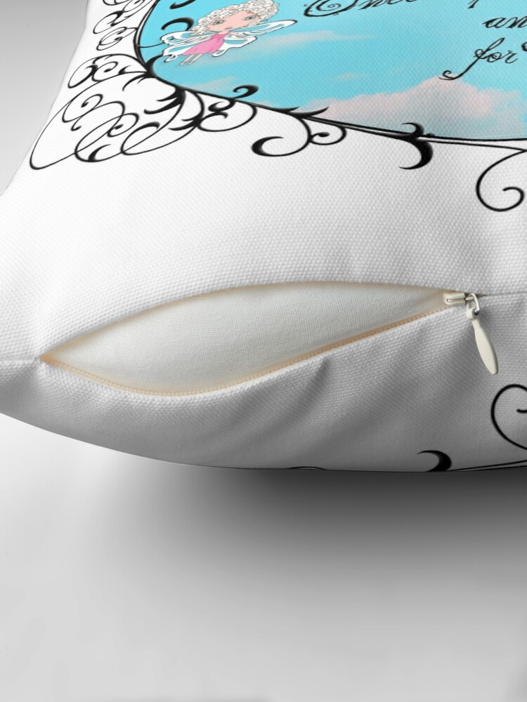 Alternate view of My Fairytale Friend Throw Pillow