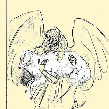 ANGEL POEM ONE by samsketchbook