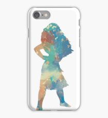Character Inspired Silhouette iPhone Case/Skin